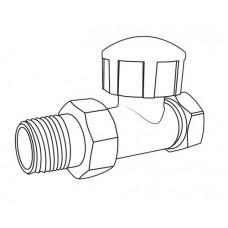 """ROYALTHERMO Вентиль термостатический прямой для радиатора 3/4"""" Вентиль"""